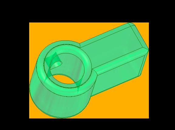 acople impreso 3D